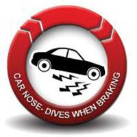 Shocks - Car nose dives when braking