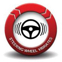 Shock - Steering wheel vibrates